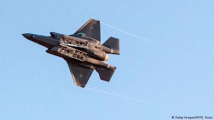 Israel Kampfjet der Luftwaffe (Getty Images/AFP/J. Guez)