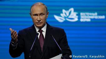 Vladimir Putin (Reuters/S. Karpukhin)