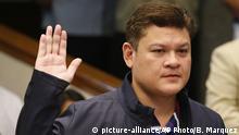 Philippinen Paolo Duterte Anhörung im Senat