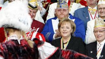 Karneval im Kanzleramt
