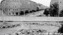 Deutschland Geschichte Berlin Mauer Bernauer Straße