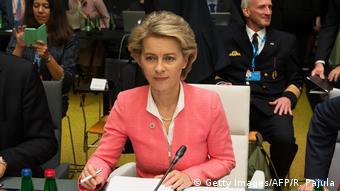 Урсула фон дер Ляйен на встрече министров обороны в Таллине