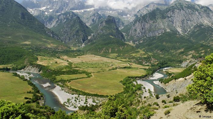 Rijeka Vojuša na jugu Albanije