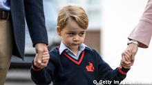 London Einschulung von Prinz George (Getty Images/R. Pohle)