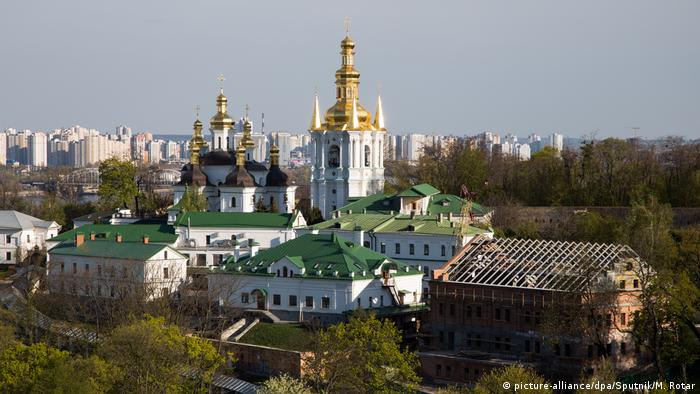 View of the city of Kyiv