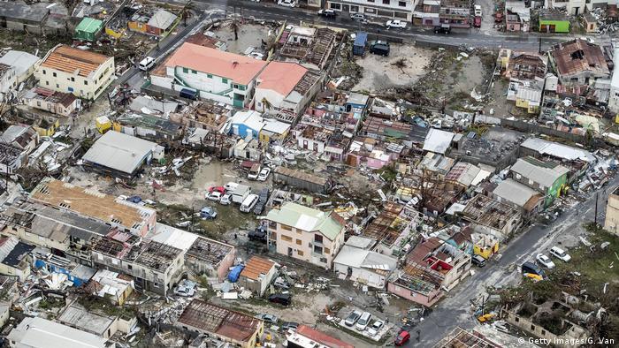 Irma Hurricane Karibik (Getty Images/G. Van)