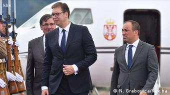 Vučić je došao u Sarajevo s prijateljskim porukama