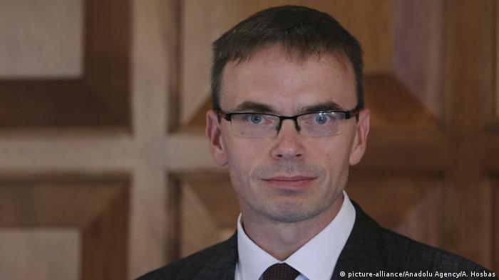Министр иностранных дел Эстонии Свен Миксер