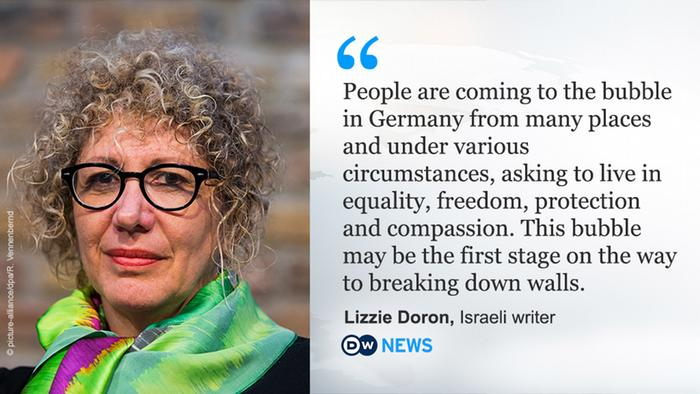 Lizzie Doron: Coming to Germany from Israel for equality ...  Lizzie Doron: C...