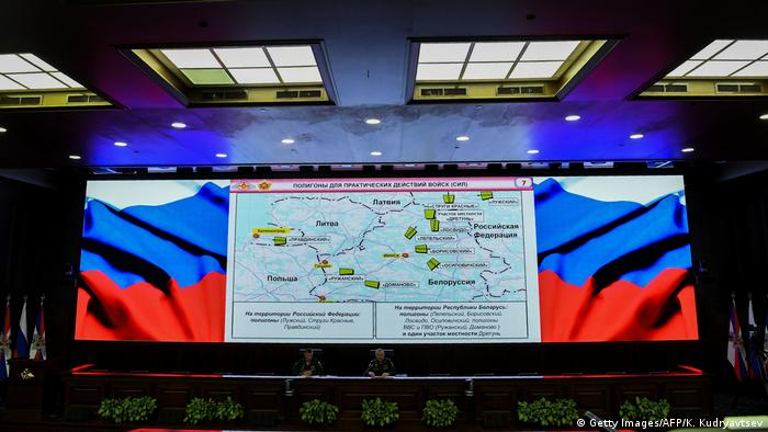 Zapad 2017 briefing in Moscow