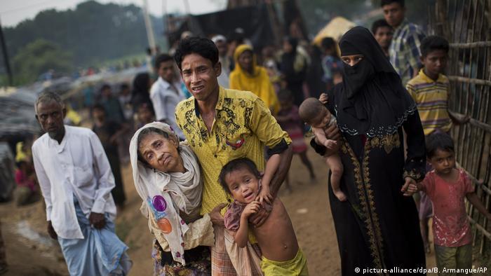 Rohingya-Konflikt in Myanmar (picture-alliance/dpa/B. Armangue/AP)