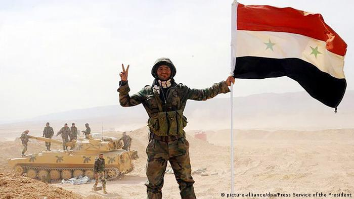 Syrien Armee Deir ez-Zor (picture-alliance/dpa/Press Service of the President)