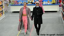 Modedesigner Karl Lagerfeld