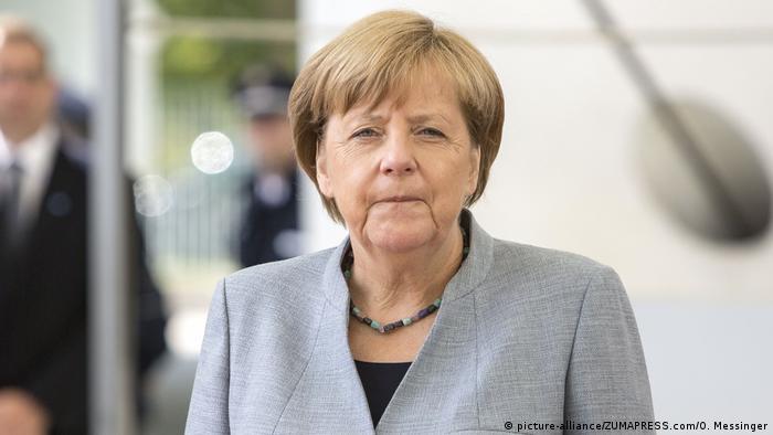 Kanzlerin Angela Merkel CDU (picture-alliance/ZUMAPRESS.com/O. Messinger)
