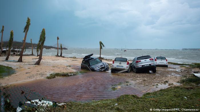 Hurricane Irma Dominikanische Republik - Saint Martin (Getty Images/AFP/L. Chamoiseau)