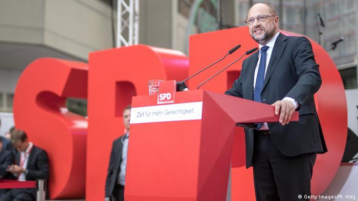 Deutschland Bundestagswahl 2017 - SPD - Martin Schulz (Getty Images/M. Hitij)
