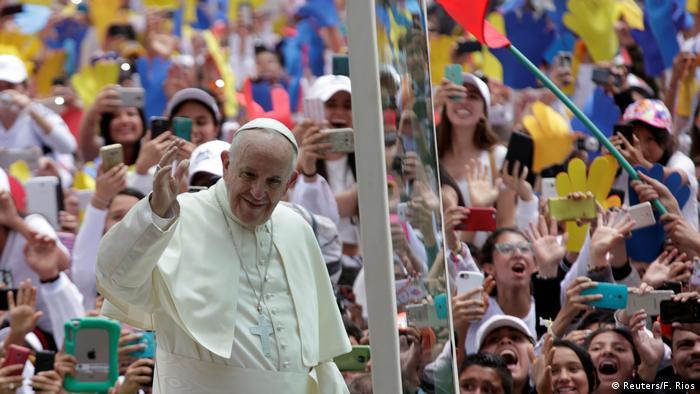 Kolumbien Papstbesuch (Reuters/F. Rios)