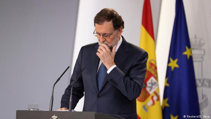 Spanien - Unabhängigkeitsreferendum für Katalonien - Mariano Rajoy (Reuters/S. Vera)