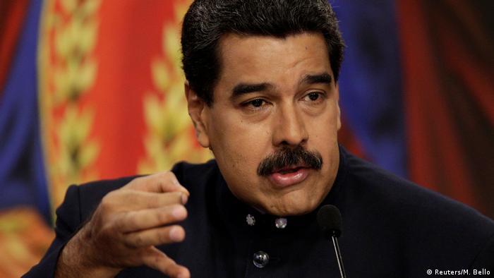 Venezuela - Präsident Maduro (Reuters/M. Bello)