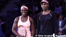 Tennis US Open - Sloane Stephens vs Venus Williams