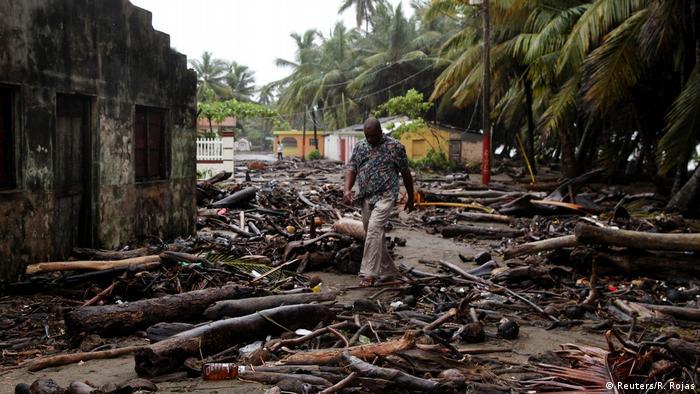 Dominikanische Republik Hurrikan Irma (Reuters/R. Rojas)