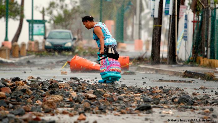 Puerto Rico Hurrikan Irma (Getty Images/AFP/R. Arduengo)