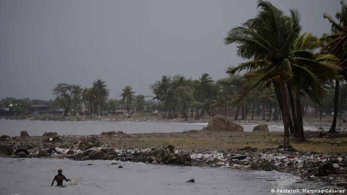 Haiti após passagem do furacão Irma