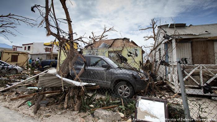 Sint Maarten Saint Martin Hurrikan Irma (Reuters/Netherlands Ministry of Defence-Gerben van Es)