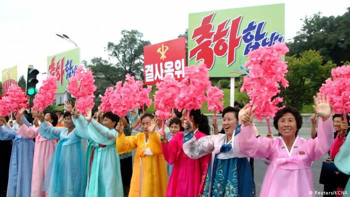 Nordkorea - Pyongyang feiert die refolgreich getestete Wasserstoffbombe (Reuters/KCNA)