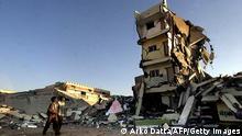 Indien Gujarat - Zerstörte Gebäude nach Erdbeben
