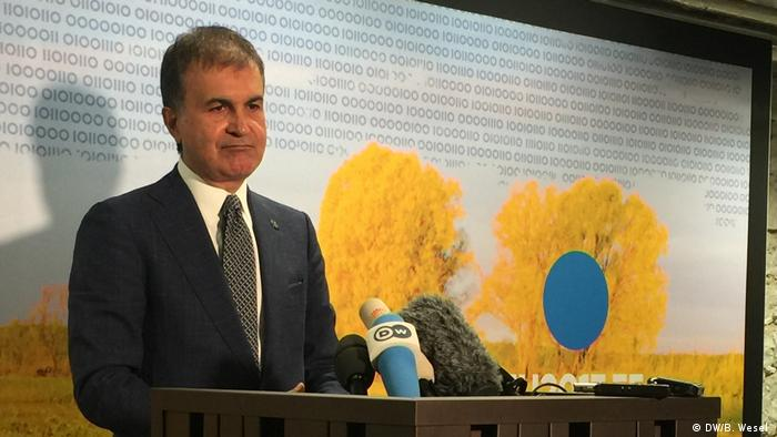 Estland Tallinn - Ömer Celik - türkischer Europaminister (DW/B. Wesel )