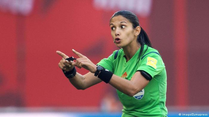 Schiedsrichterin Claudia Umpierrez (imago/Zumapress)