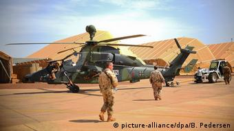 Mali Bundeswejr Camp Castor in Gao (picture-alliance/dpa/B. Pedersen)