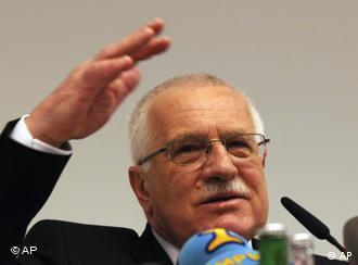 Президент Чеської Республіки Вацлав Клаус