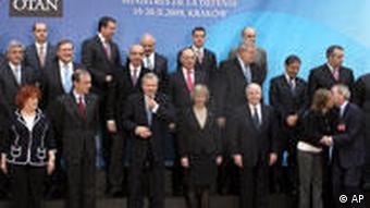 Nato Treffen in Krakau Polen