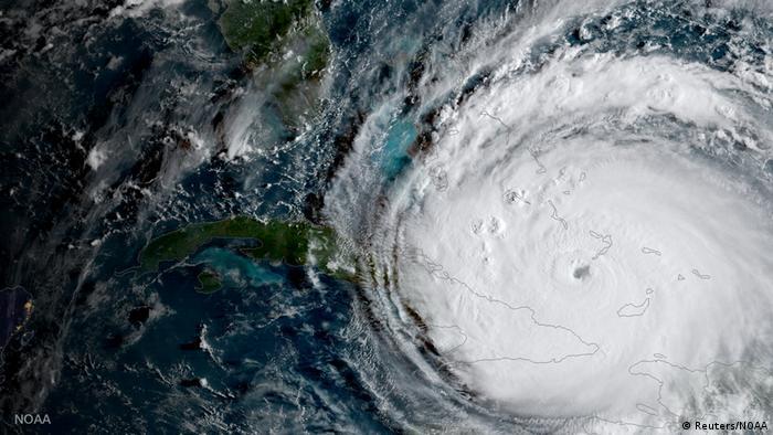 Kuba Kurricae Irma Satellitenbild (Reuters/NOAA)