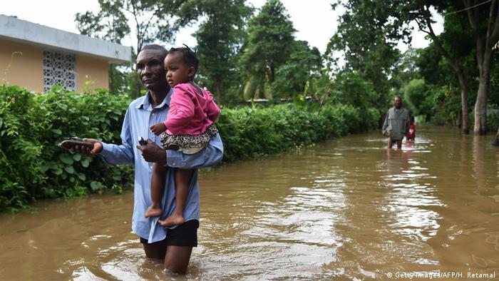 Haiti Hurricane Irma Überschwemmungen