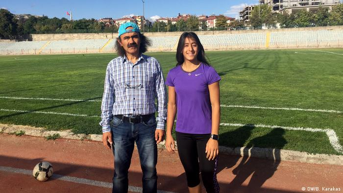 Ankara Mizgin Ay Türkische Athletin (DW/B. Karakas)