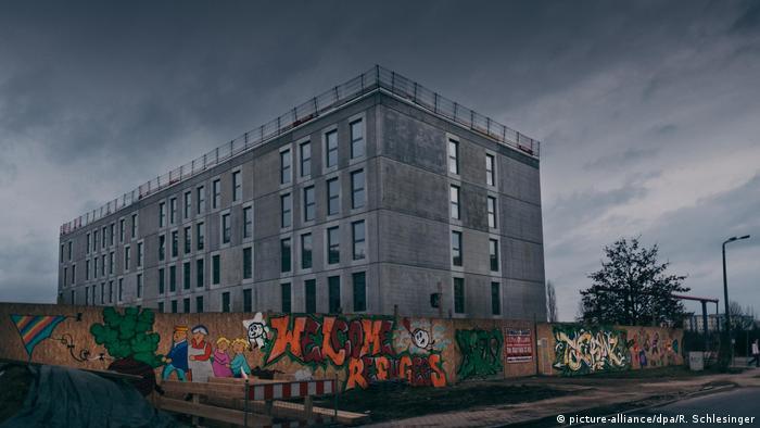 Flüchtlingsheim in Berlin-Hellersdorf (Archivbild)