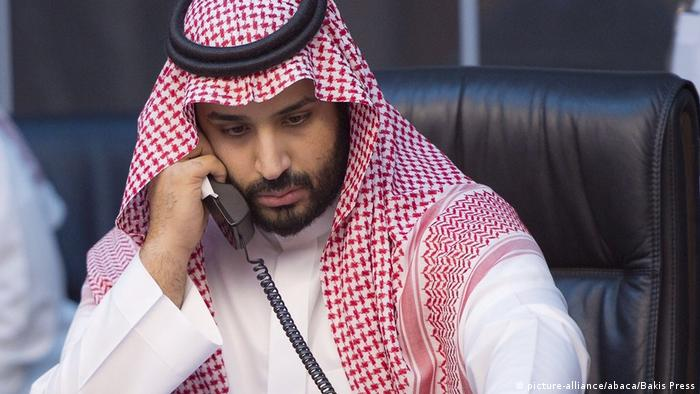 Kronprinz Mohammed bin Salman (Archivbild) (picture-alliance/abaca/Bakis Press)