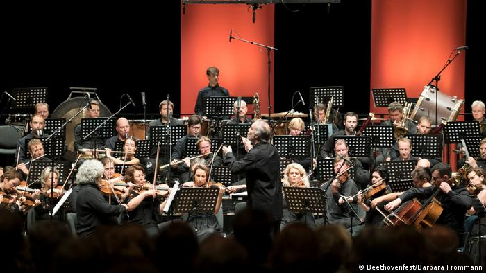 The Mariinsky Theater Orchestra performs in the World Conference Center Bonn (Beethovenfest/Barbara Frommann)
