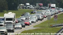 Hurricane Irma Evacuation Traffic Florida