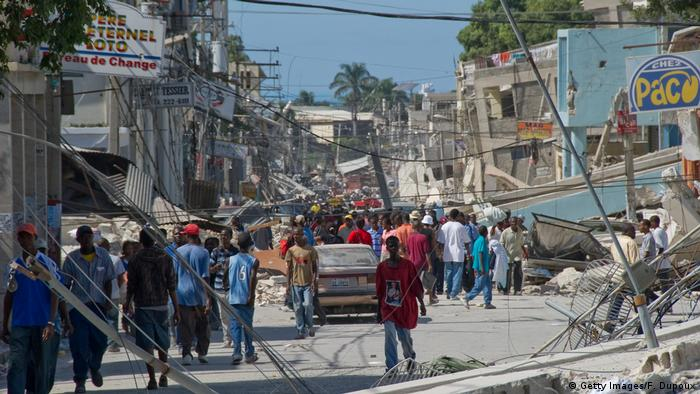 Port au Prince, Haiti after the earthquake in January 2010