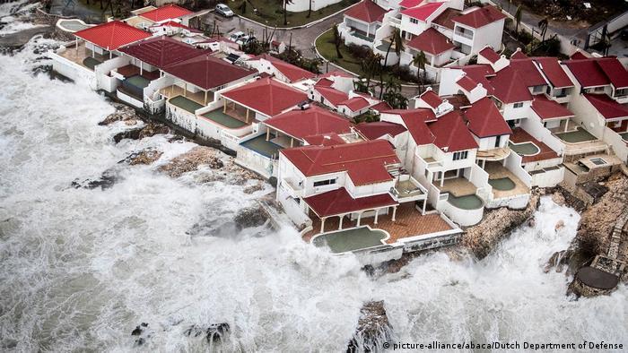 USA Hurrikan Irma Florida (picture-alliance/abaca/Dutch Department of Defense)