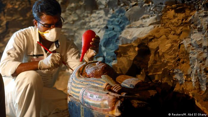 Egypt uncovers 3,500-year-old tomb of royal goldsmith in Luxor