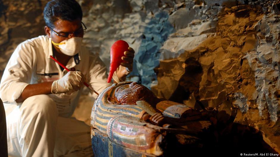 Sensationsfund ägypten