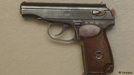 A close-up of the Makarov pistol (Imageo)