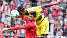 Fußball BUNDESLIGA FREIBURG vs DORTMUND