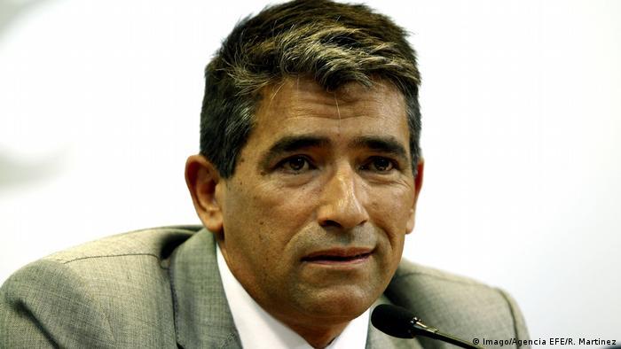 Uruguay Vizepräsident Raul Sendic (Imago/Agencia EFE/R. Martinez)