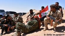 Syrien Soldaten in Deir Essor